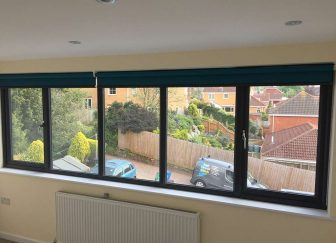Roller Blinds fitted at a house in Exmouth.